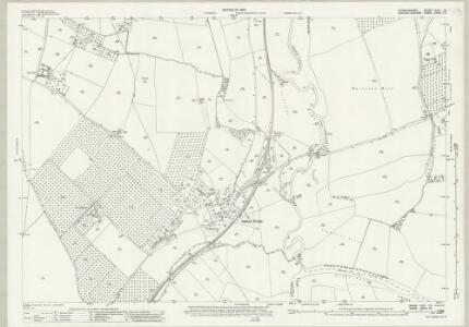 Warwickshire XLIII.13 (includes: Bidford on Avon; Cleeve Priors; Salford Priors) - 25 Inch Map