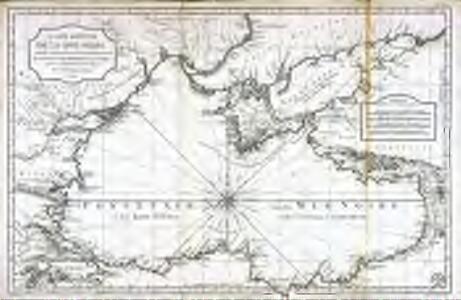 Carte réduite de la mer noire