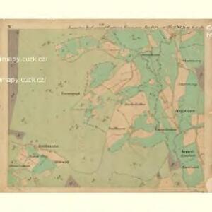 Eisenstein Dorf - c7755-2-010 - Kaiserpflichtexemplar der Landkarten des stabilen Katasters