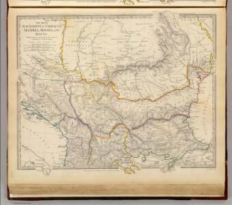 Ancient Macedonia, Thracia, Illyria, Moesia, and Dacia.