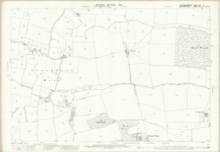 Huntingdonshire XXV.5 (includes: Eaton Socon; Great Staughton; Hail Weston) - 25 Inch Map