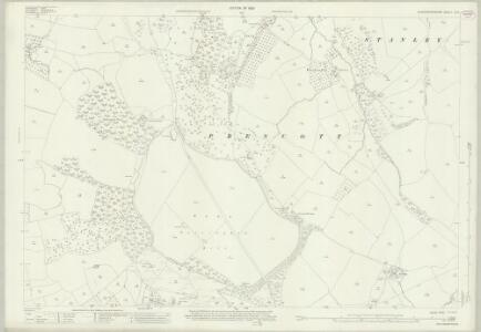 Gloucestershire XX.5 (includes: Gotherington; Prescott; Southam; Woodmancote) - 25 Inch Map