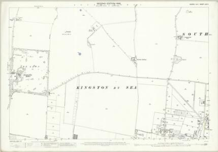 Sussex LXV.6 (includes: Kingston By Sea; Shoreham By Sea; Southwick) - 25 Inch Map