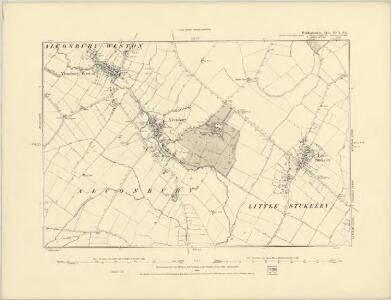 Huntingdonshire XVII.NW - OS Six-Inch Map