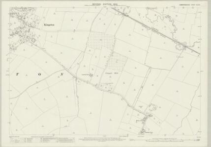 Cambridgeshire XLVI.10 (includes: Great Eversden; Kingston; Toft) - 25 Inch Map