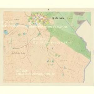 Borkowitz - c0380-1-008 - Kaiserpflichtexemplar der Landkarten des stabilen Katasters