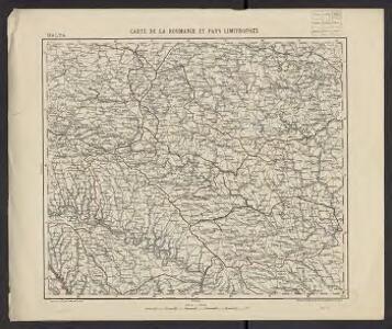 Carte de la Roumanie et pays limitrophes. Balta