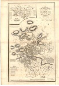 This map of the ten parishes within the Royalty and the parishes of Gorbals Barony of Glasgow.