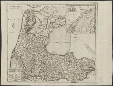 Noordhollands noordelykste gedeelte : behelzende Westfriesland: onderscheiden in Dregterland, de IV Noorder Koggen, en in Geestmer Ambagt met de Schager en Nieudorper Koggen enz.