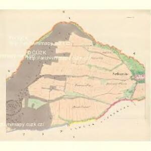 Schweine (Swinow) - m2984-1-002 - Kaiserpflichtexemplar der Landkarten des stabilen Katasters