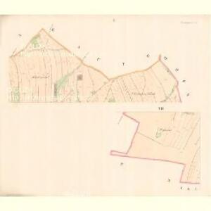 Unter Langendorf (Dilnj Laucka) - m0488-1-001 - Kaiserpflichtexemplar der Landkarten des stabilen Katasters