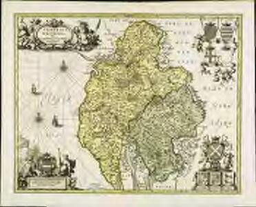 Cumbria [et] Westmoria. vulgo Cumberland [and] Westmorland