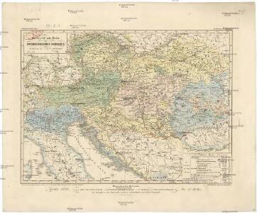 Ethnographische Karte der Österreichischen Monarchie