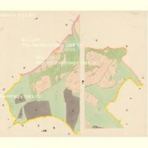 Roisching - c6520-1-007 - Kaiserpflichtexemplar der Landkarten des stabilen Katasters