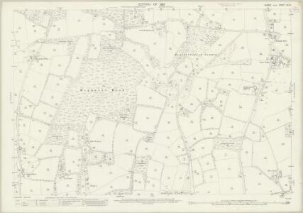 Sussex XII.10 (includes: Loxwood; Plaistow) - 25 Inch Map