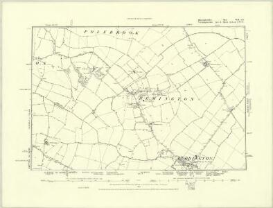 Huntingdonshire IV.SE - OS Six-Inch Map
