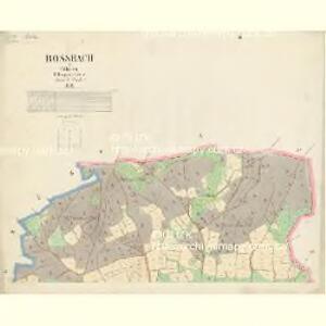 Rossbach - c2332-2-001 - Kaiserpflichtexemplar der Landkarten des stabilen Katasters