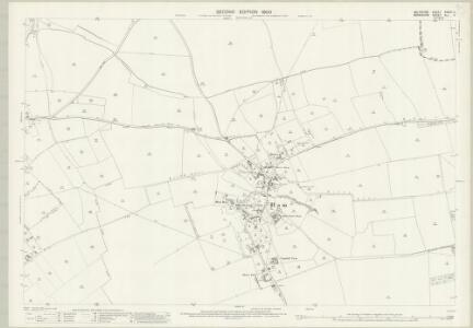 Wiltshire XXXVII.11 (includes: Ham; Inkpen; Shalbourne) - 25 Inch Map