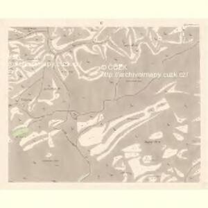 Dittersbach - c2872-1-005 - Kaiserpflichtexemplar der Landkarten des stabilen Katasters