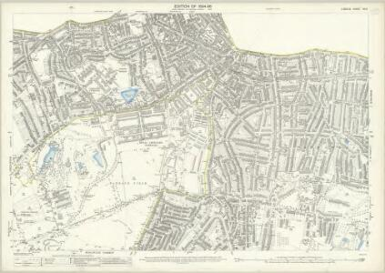 London (Edition of 1894-96) XCIV (includes: Borough Of Woolwich) - 25 Inch Map