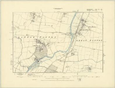 Huntingdonshire XXV.NW - OS Six-Inch Map