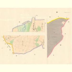 Tedraschitz (Tedrazitz) - c7845-1-001 - Kaiserpflichtexemplar der Landkarten des stabilen Katasters