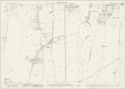 Berkshire IX.6 (includes: Draycot Moor; Fyfield; Kingston Bagpuize; Longworth) - 25 Inch Map