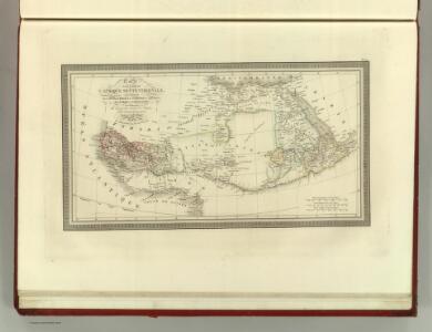 Carte d'une Partie de L'Afrique Septentrionale.