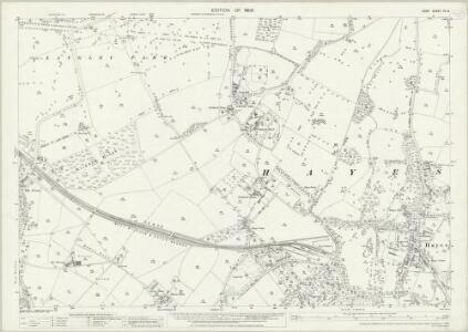 Kent XV.8 (includes: Beckenham; Bromley) - 25 Inch Map