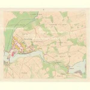 Serowitz - c9451-1-005 - Kaiserpflichtexemplar der Landkarten des stabilen Katasters