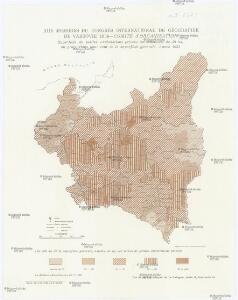 Superficie de petites exploitations privées (au-dessous de 50 ha) en proportions pour cent de la superficie générale