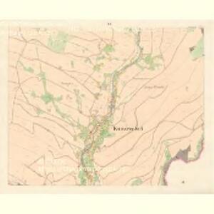 Kunzendorf (Kunczicze) - m1423-1-010 - Kaiserpflichtexemplar der Landkarten des stabilen Katasters