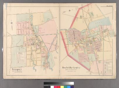 Plate 15: Freeport, Town of Hempstead - Rockville Centre, Town of Hempstead.