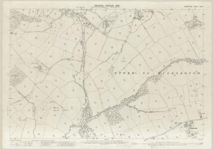 Shropshire LXXII.6 (includes: Hopton Cangeford; Stoke St Milborough) - 25 Inch Map