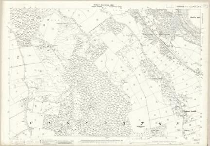 Yorkshire LXII.11 (includes: Cloughton; Staintondale) - 25 Inch Map
