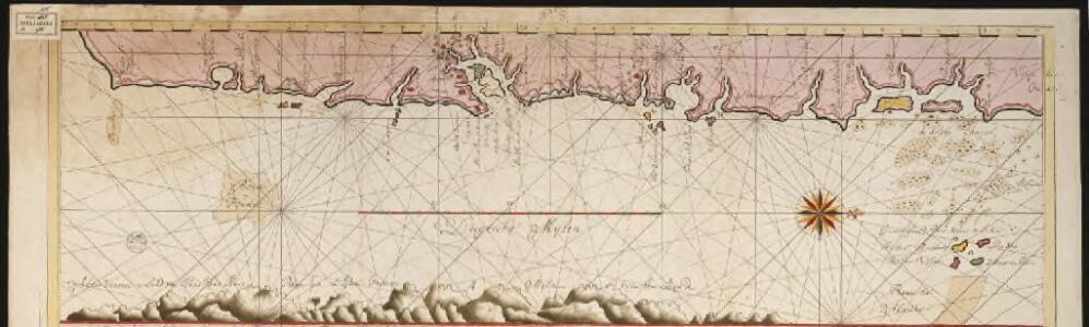 Een gedeelte van de kust van Brazilia tussen Rio das Contas en Cabo St. Thome [south part]