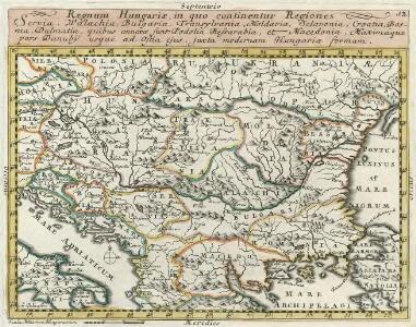 Regnum Hungariae, in quo continentur Regiones