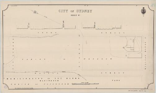 City of Sydney, Sheet P3, 1888