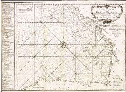 Accurate chart of the Bay of Biscay