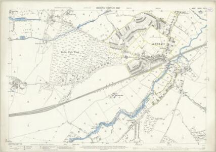 Kent VIII.8 (includes: Bexley; Chislehurst and Sidcup) - 25 Inch Map