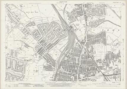 Durham L.12 (includes: Norton; Stockton On Tees; Thornaby) - 25 Inch Map