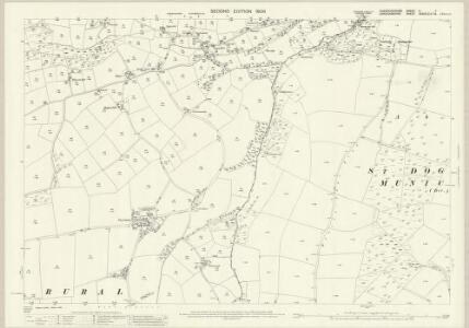 Pembrokeshire II.7 (includes: Cardigan; St Dogmaels) - 25 Inch Map