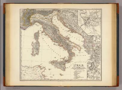 Italia, Gallia citerior, Illyricum, Sicilia, Sardinia, Corsica.
