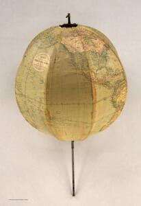Betts's Portable Terrestrial Globe.