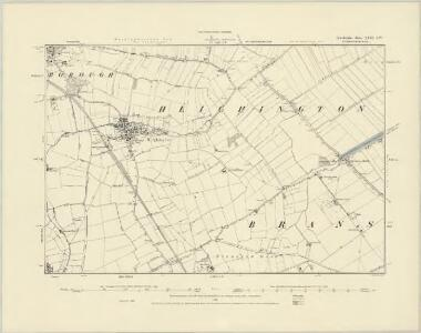 Lincolnshire LXIII.NE - OS Six-Inch Map