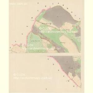 Nemelkau (Nemelkow) - c5026-1-001 - Kaiserpflichtexemplar der Landkarten des stabilen Katasters