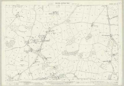 Somerset XI.11 (includes: Butcombe; Wrington) - 25 Inch Map