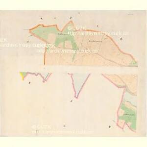 Zbudau - c9193-1-001 - Kaiserpflichtexemplar der Landkarten des stabilen Katasters