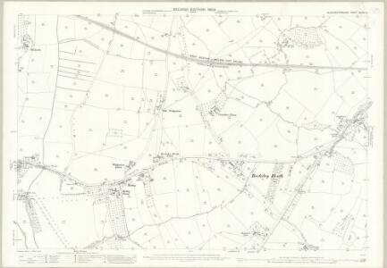 Gloucestershire XLVIII.13 (includes: Alkington; Berkeley; Cam; Ham and Stone; Hamfallow; Stinchcombe) - 25 Inch Map