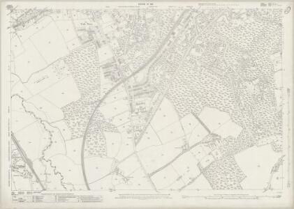 Surrey XV.7 (includes: Frimley) - 25 Inch Map